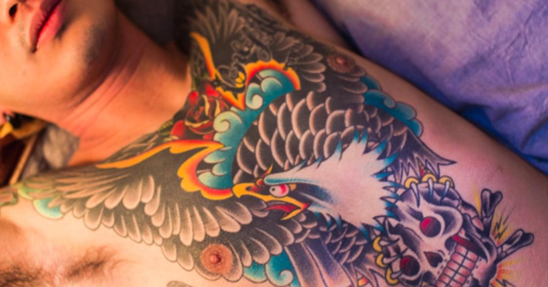 「不曾後悔對抗主流社會的選擇」在日本,遇見刺青的他