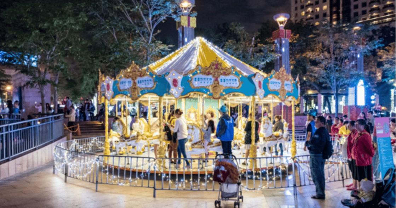 與自己相約聖誕夜!盤底台北城的童話聖誕樹