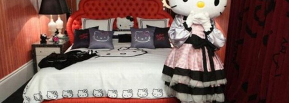 想和Hello Kitty一夜春宵?快來入住Hello Kitty Hotel