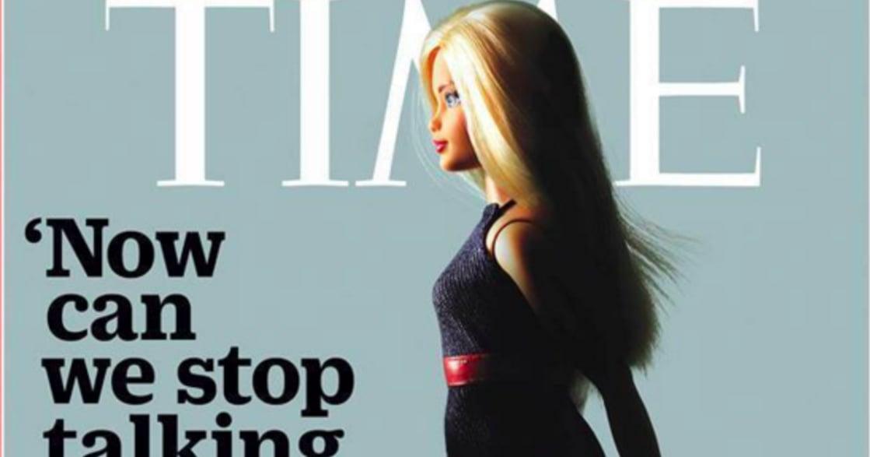 《時代雜誌》的芭比封面:當一個無法被拷貝的女生