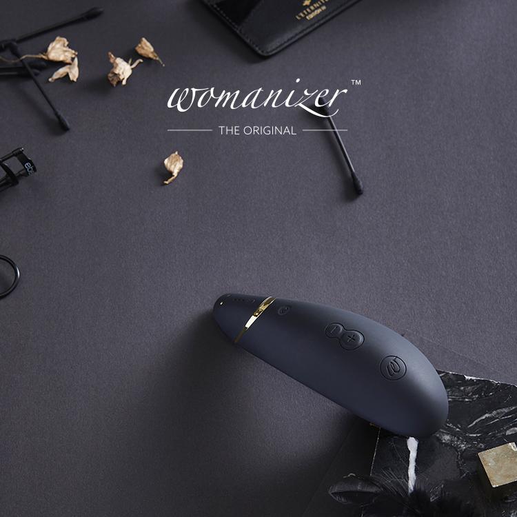 Womanizer|PREMIUM 吸吮愉悅器 /黑|LHH