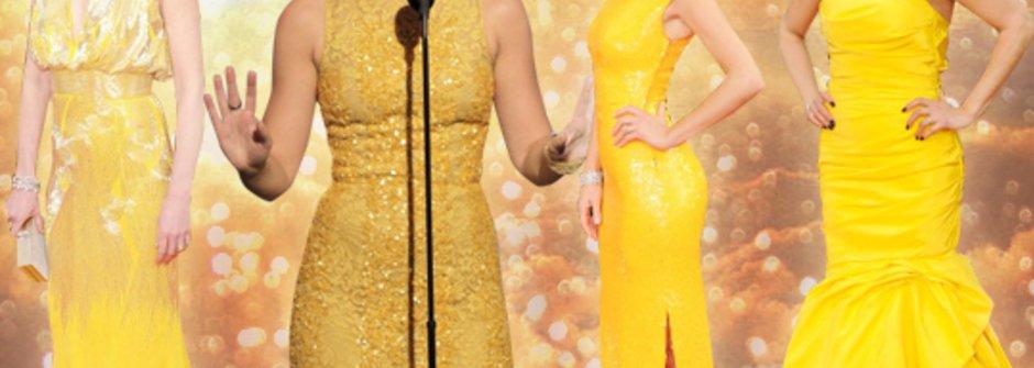 2012金球獎的紅毯6大主流
