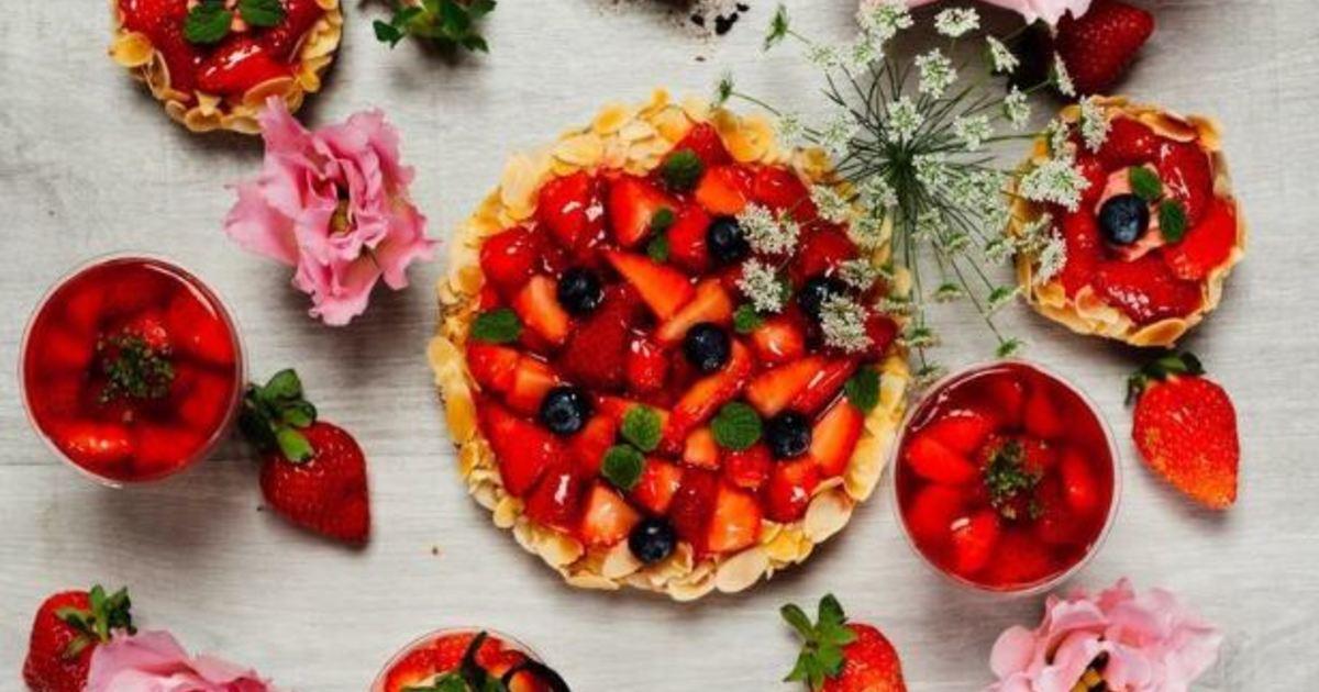 草莓甜點盛開中!巷弄中的草莓蛋糕私鑑賞