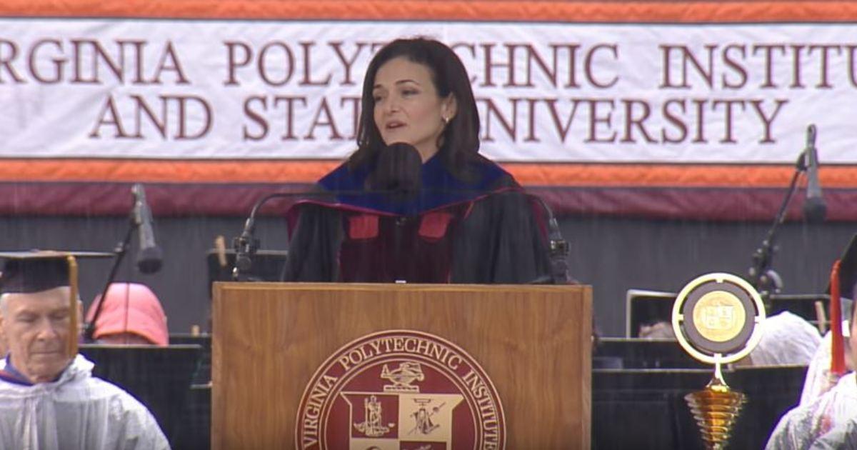 雪柔・桑德伯格的畢業演說:踏實的希望,讓你戰勝恐懼