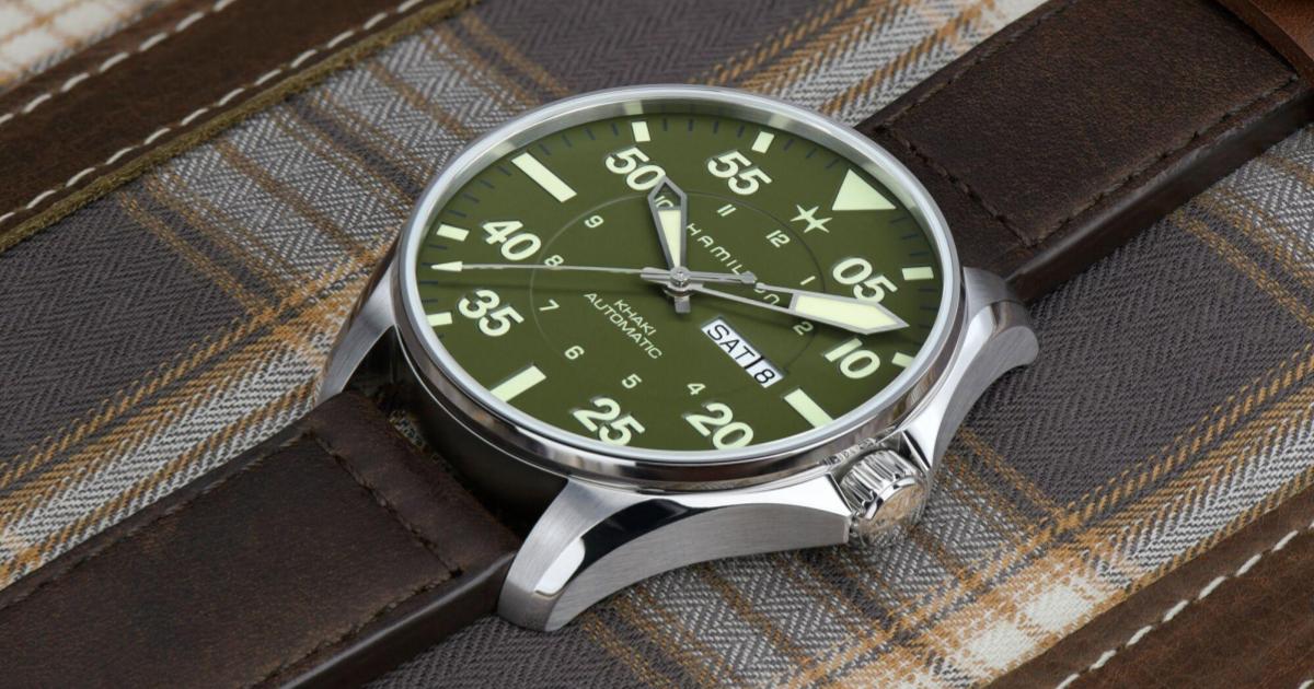 軍風時尚錶:Hamilton 與 Schott NYC 推出限量聯名商品