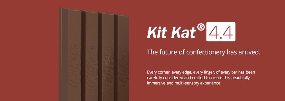 巧克力闖進科技業,KitKat的google冒險