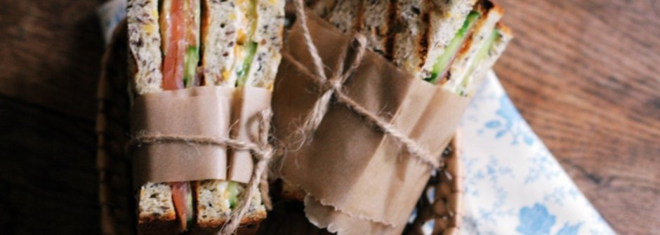 【美味料理食譜】道地英國味 Brunch !橘子奶油起司燻鮭魚三明治