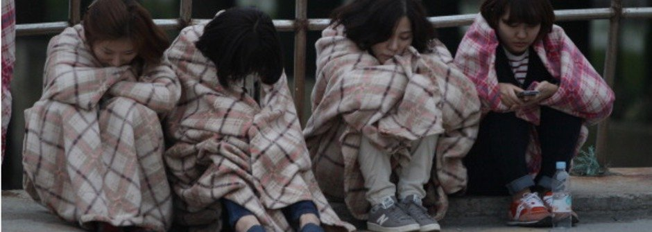 南韓船難的最後一個簡訊:媽媽我愛你