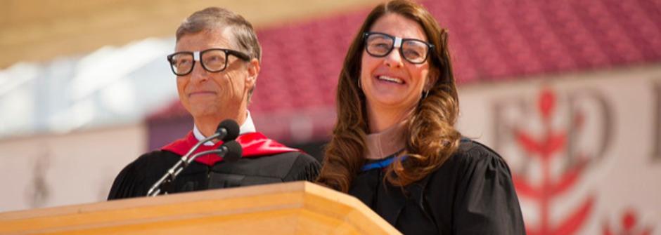 比爾蓋茲夫婦:樂觀,讓世界更好的原動力