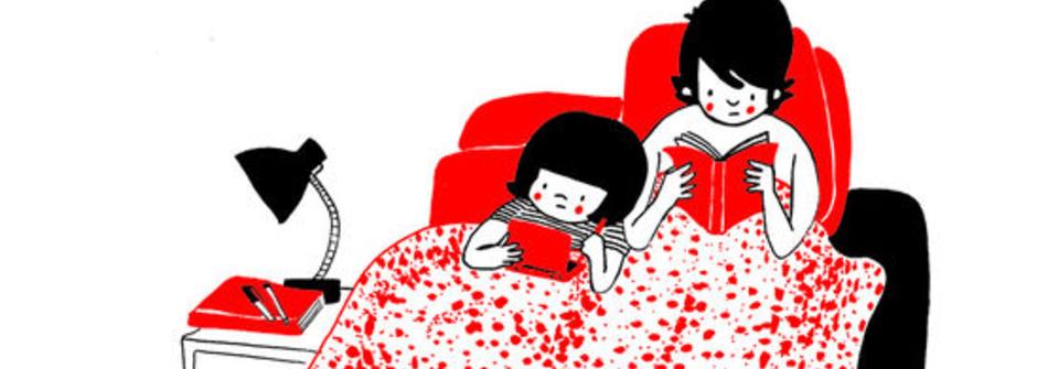 英國插畫家捕捉相戀瞬間:每個日常片刻都有你,就是幸福