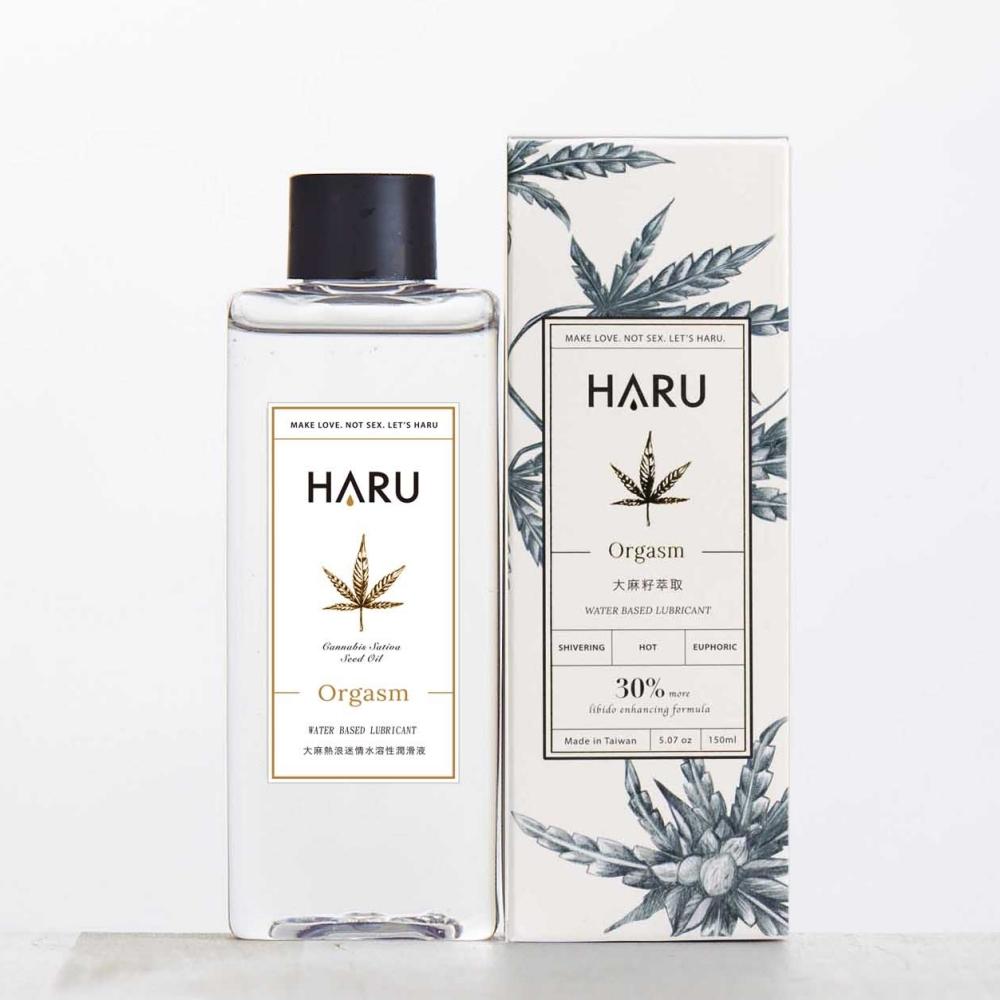 HARU|ORGASM 大麻熱浪迷情熱感潤滑液