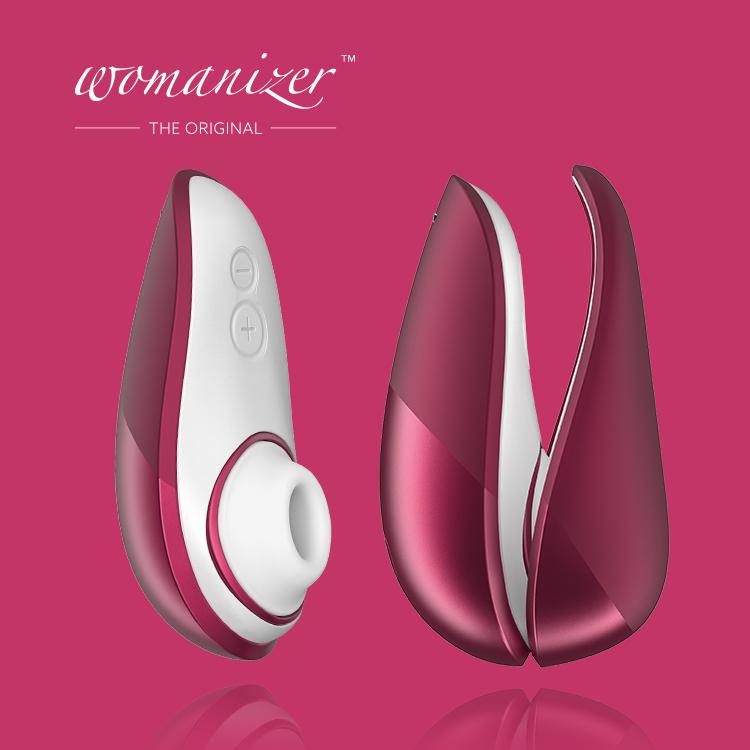 Womanizer|LIBERTY 吸吮愉悅器 /酒紅|LHH