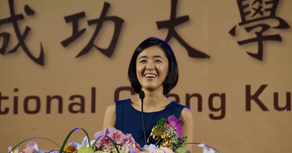 【獨家】劉安婷成大畢業致詞全文:「找個值得耕耘的地方,種下你的幸運」