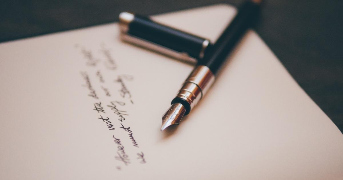 【獨處練習】提筆給自己的問題寫一封信