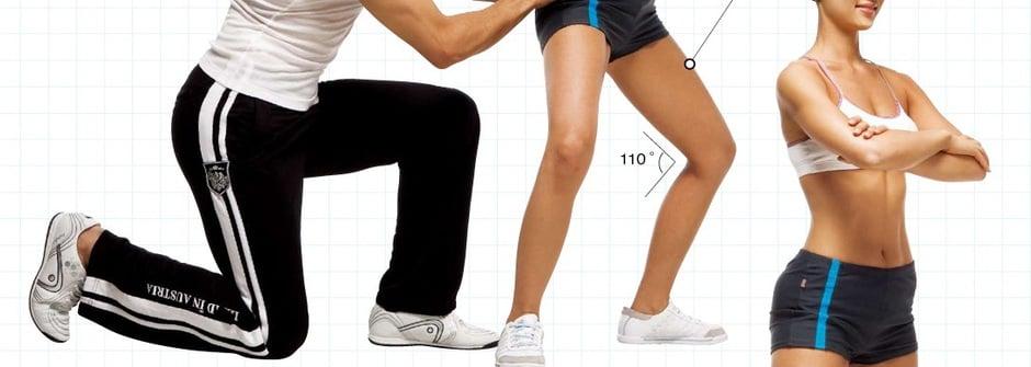 青花魚教練幫妳打造S身形:俏臀與完美大腿曲線篇