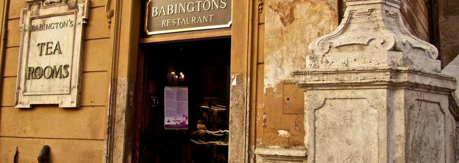 羅馬假期遇見百年英式茶店 Babington Tea Shop