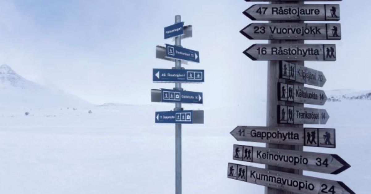 Mika 在路上 在北極摔跤,發現天空好值得欣賞