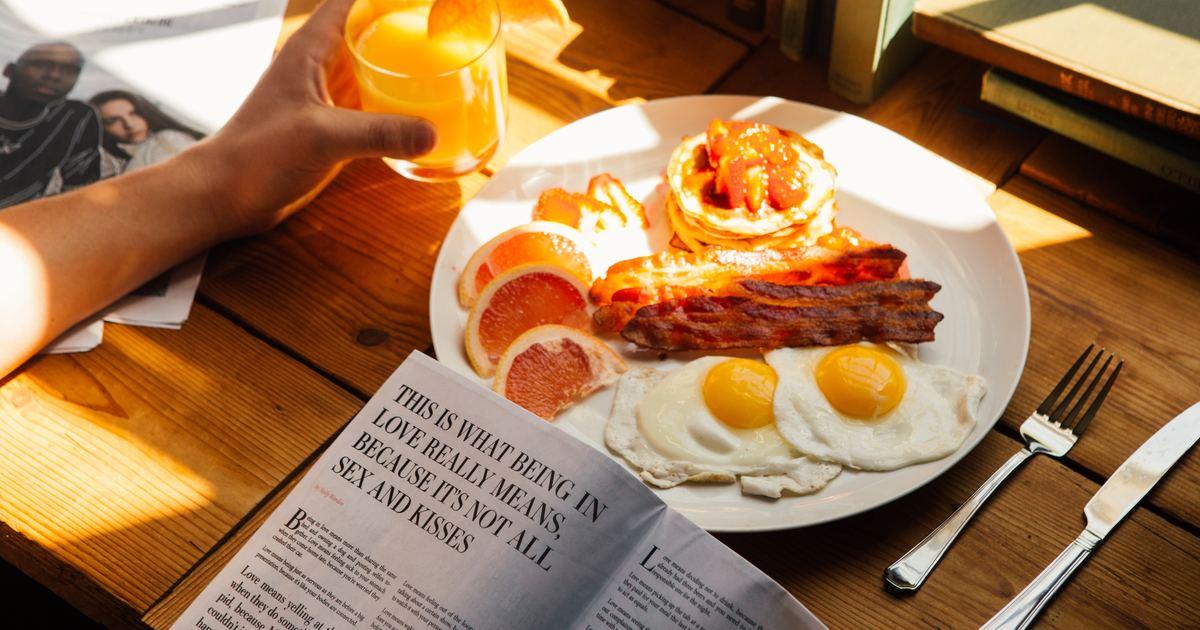 許菁芳專欄 好好吃一頓早餐,即是世界的邏輯