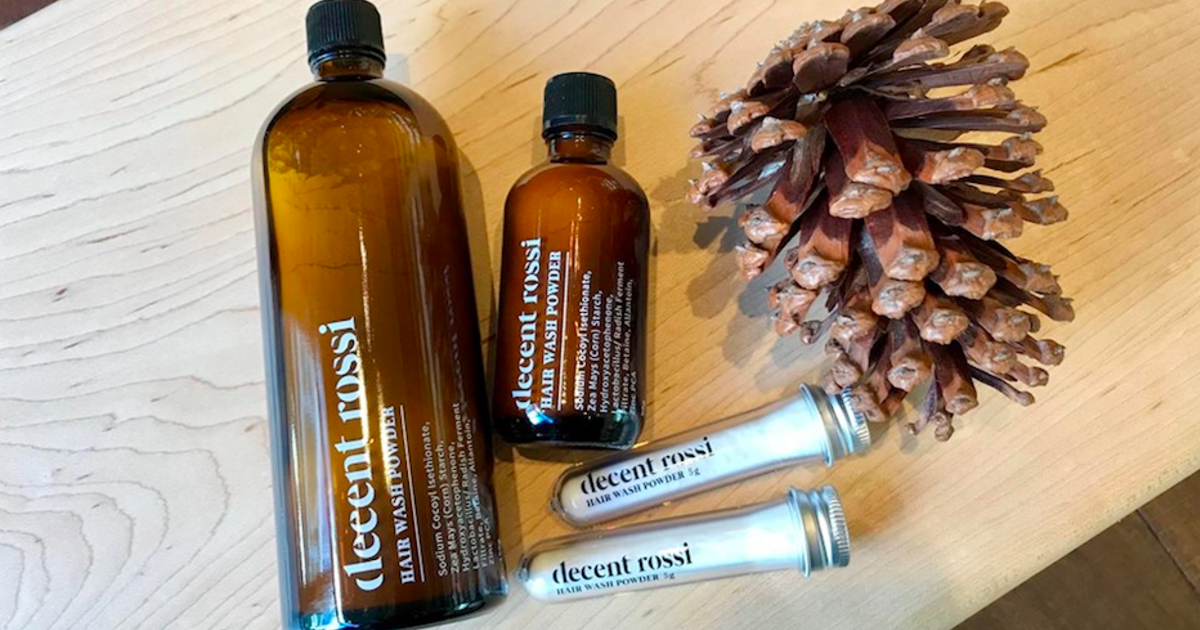 極簡呵護:Decent Rossi 潔髮蜜粉,回歸清潔本質的安心髮品
