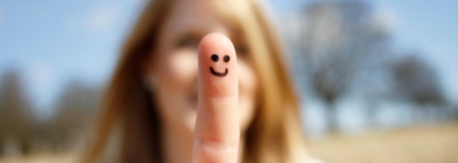 微笑吧,快樂就有希望