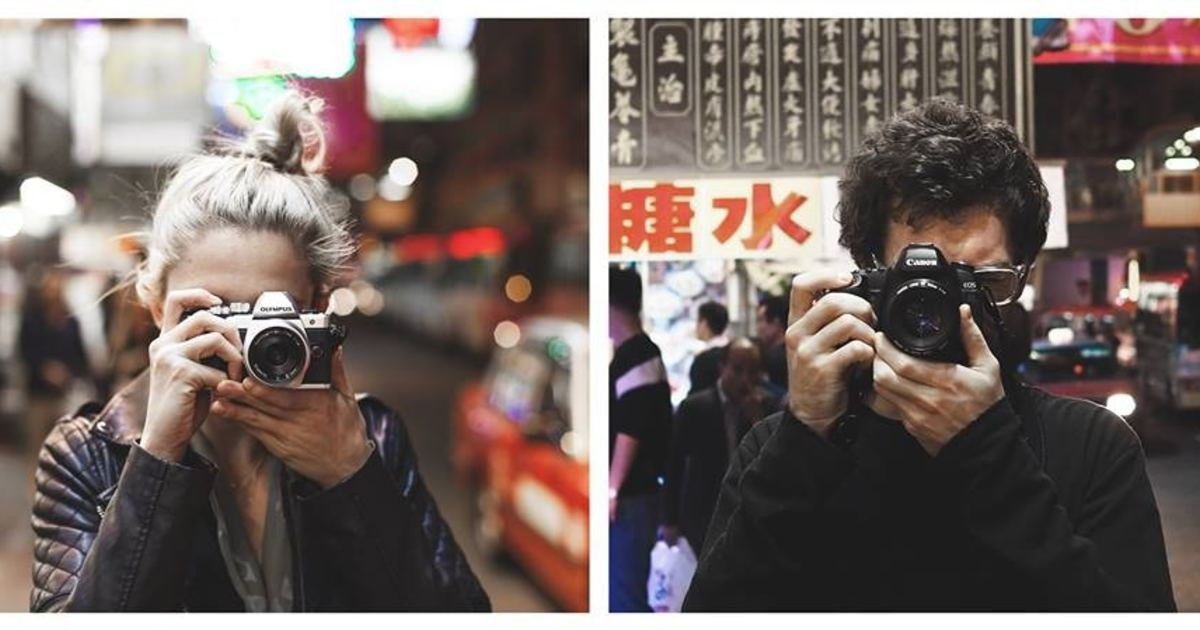 戀愛就是幫彼此拍照:情侶香港旅遊,原來能這樣拍