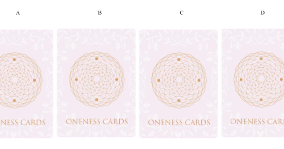 【Oneness Cards 占卜】如何知道,他就是對的人?