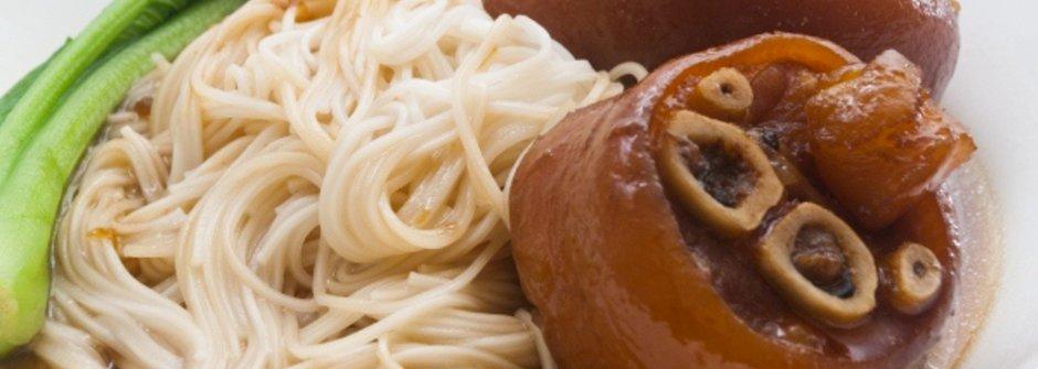 美味料理食譜:暖心福壽豬腳麵線