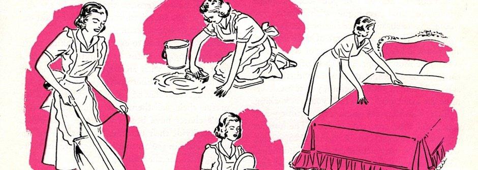 男人?女人?誰來搞定家務事?