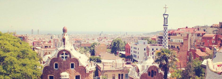熱情美麗又迷人的城市女孩 西班牙巴塞隆納