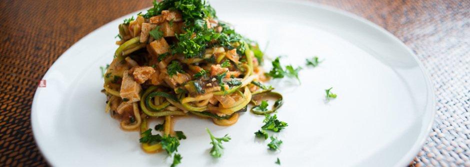 美味料理食譜:輕鬆上菜,低卡的義式節瓜麵