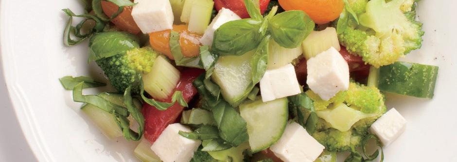 【鄭多蓮瘦身食譜】消水腫的蕃茄小黃瓜沙拉