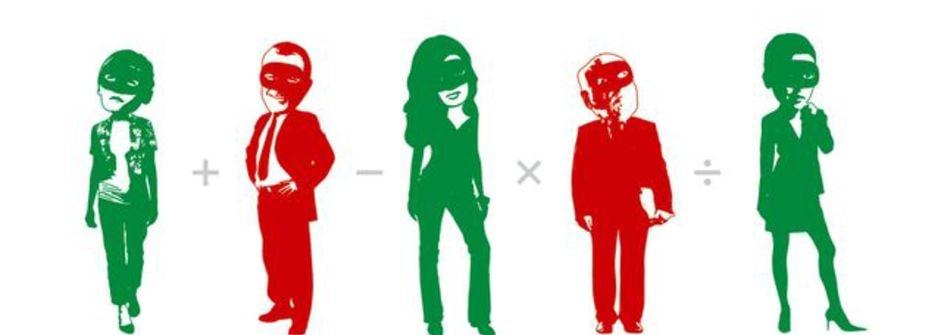 面具之上:愛情與婚姻中的五種角色