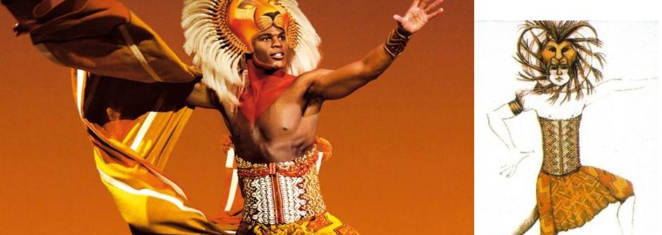 召喚角色的魔術師:從《獅子王》看劇場服裝設計師的挑戰