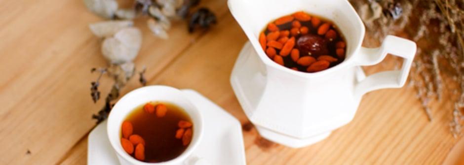 美味料理食譜:消除疲勞護肝飲品─枸杞紅棗茶