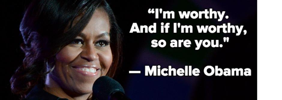 從女孩到女人都受用!蜜雪兒歐巴馬:別讓任何人阻擋你前進