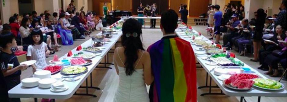 台灣基督徒夫婦的婚禮致詞:如果你們祝福我,也請祝福同志的愛