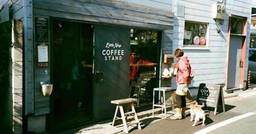【日記本裡的旅行通信】東京代代木咖啡店散策