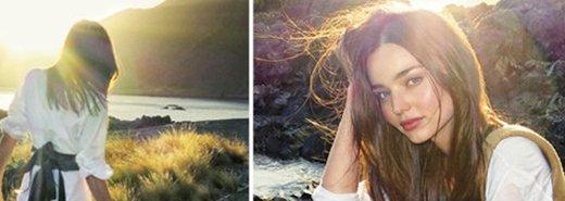 奧蘭多鏡頭下的米蘭達,是他眼裡最美的風景