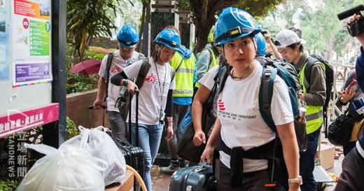 無國界醫生拒絕救援理大:「香港人的錢和良心你取了,但有難時你卻躲遠」
