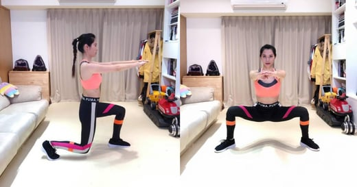 居家運動指南|每天四分鐘,高速訓練臀部與腿部