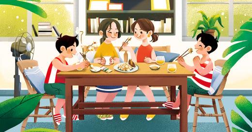 【夏天餐桌故事】夏日限定的涼筍沙拉:維繫家中情感,不需大菜