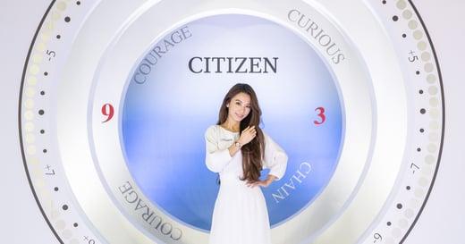 陪伴女性跨出每一步的永恆經典:CITIZEN xC 系列腕錶
