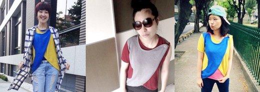 夏日女孩輕風格,4種不對稱穿搭示範
