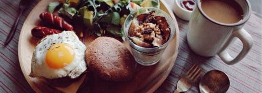 為另一半下廚的幸福:薰衣草迷迭香培根起司漢堡