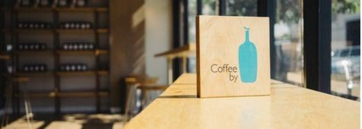 咖啡的職人藝術!不跟星巴克比的藍瓶咖啡店 Blue bottle