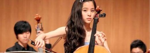 國家音樂廳最小的大提琴演奏家!歐陽娜娜:「我選擇淡然面對嘲弄」