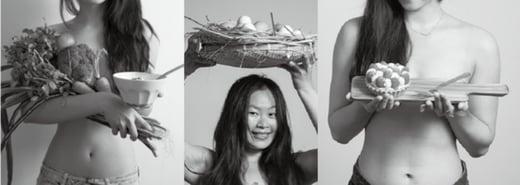 【設計在舌尖】食物的裸體攝影集