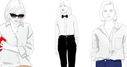 白襯衫歷史小檔案:從男人的行頭到女人展現性感的必備裝束