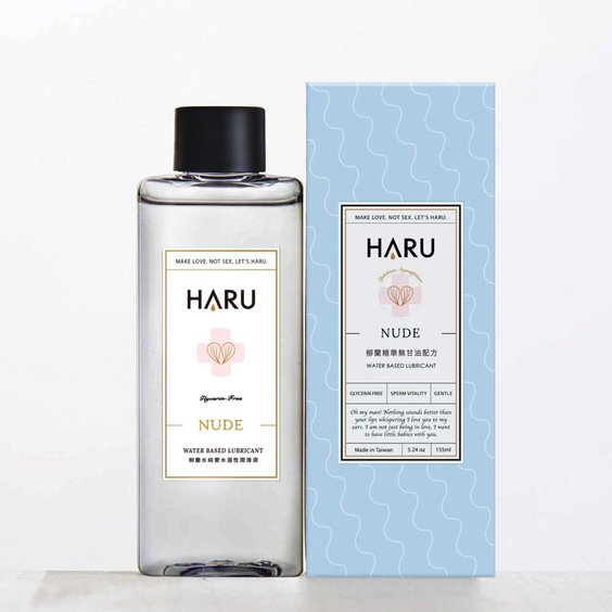 HARU|NUDE 柳蘭精華純愛水溶性備孕潤滑液(無甘油) 的圖片