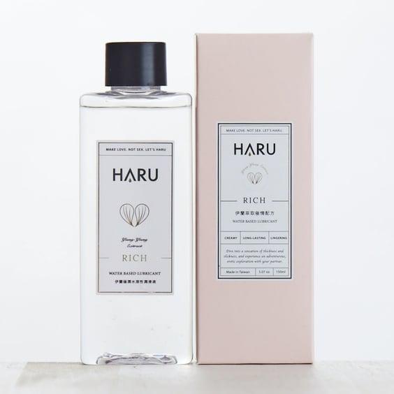 [熱銷補貨中] HARU|RICH 情慾香氛伊蘭極潤潤滑液 /濃厚 的圖片